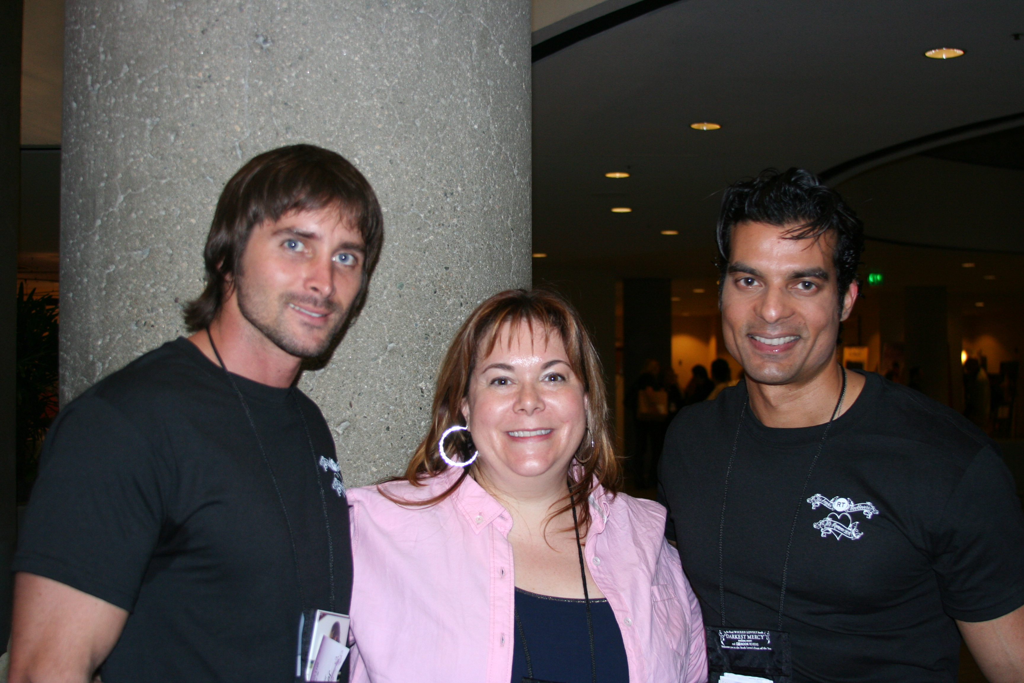 2011 RT Convention with Jeremy R., me, and Stefan Pinto