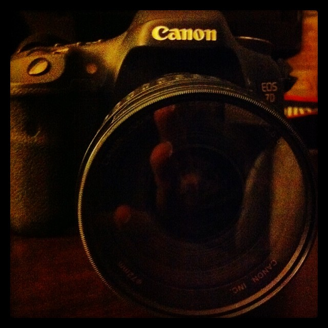 My Canon 7D - The Big Boy what cannot be kept quiet