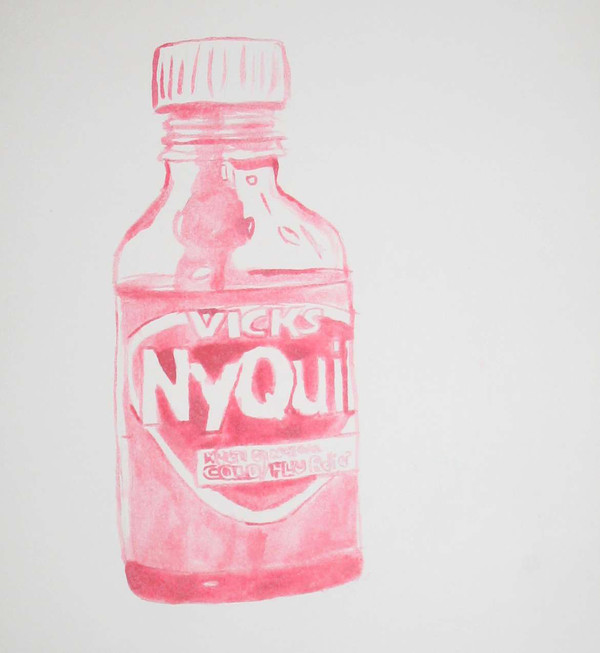 nyquil cherry cough sketch
