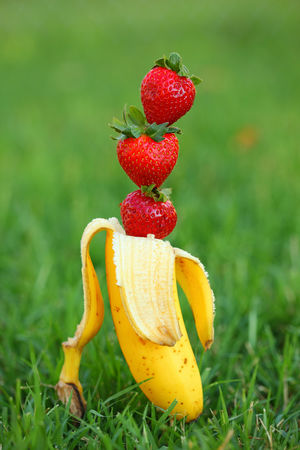 The Elusive Strawberry Banana