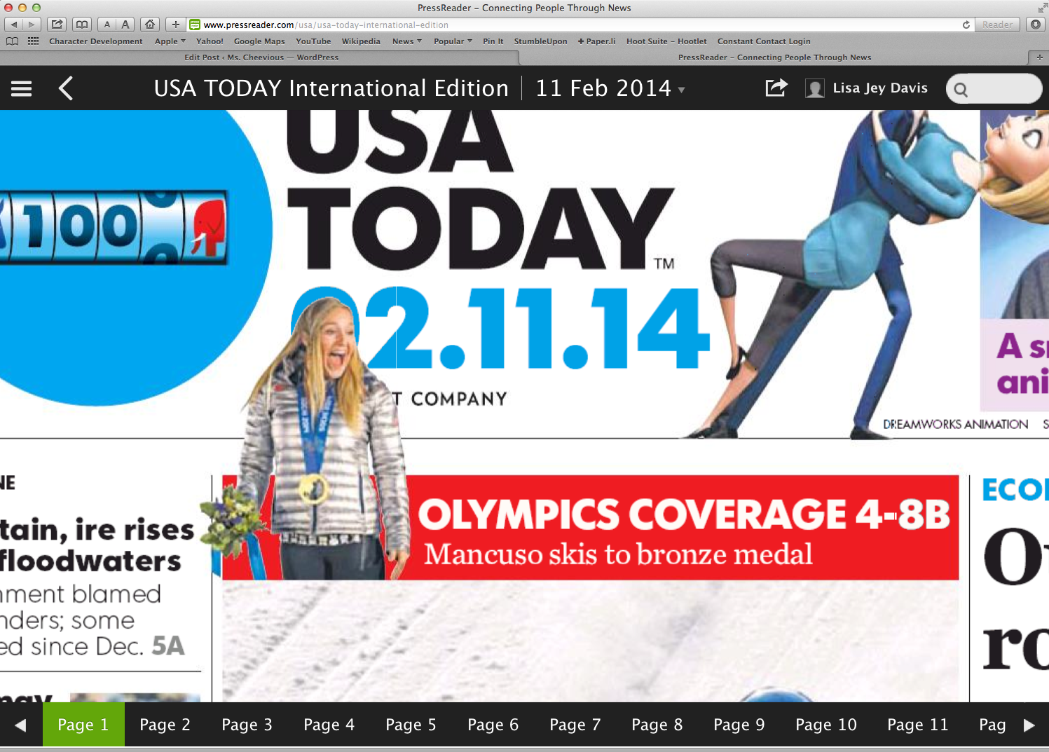 USA Today International on Press Reader