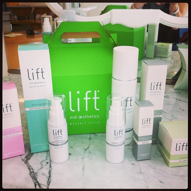 LiftMD Aesthetics YUMMY skin care line