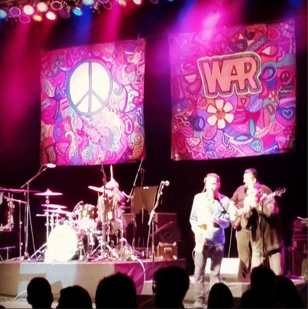 War at the Greek Theatre 2015